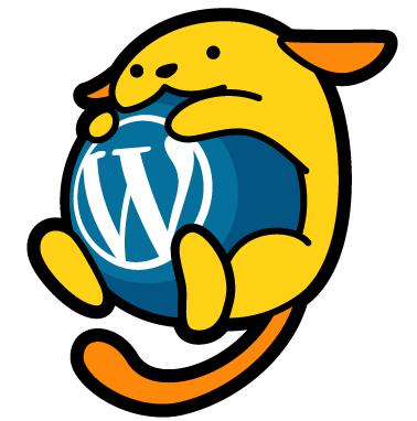 WordPress 日本公式キャラクター「わぷー」